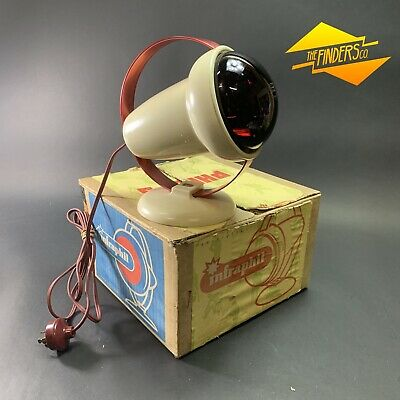 Amazing Retro Philips 'Infraphil' 150W 240V Infra-Red Heat Lamp New In Box Space