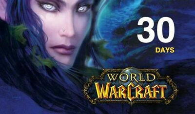 WORLD OF WARCRAFT CLASSIC EU 30 days
