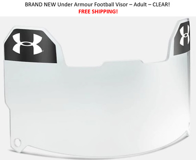 BEST PRICE Under Armour Adult Football Eye Shield Visor - Clear - FREE SHIPPING!