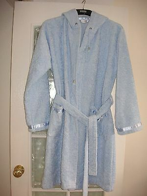 SEINA Luxury Super Soft Hooded Bath Robe Dressing Gown Girls Ladies-NEW – Size M