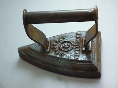 Victorian Flat / Sad Iron No 6 Pugh & Co Wednesbury (1850-1891) - Collectible