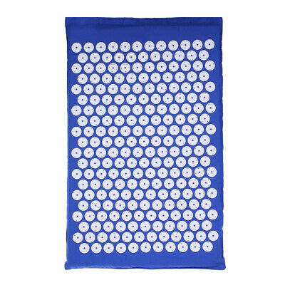 Acupressure Mat with Pillow & Ball Set for Relieving Stress Back & Neck B3Y9