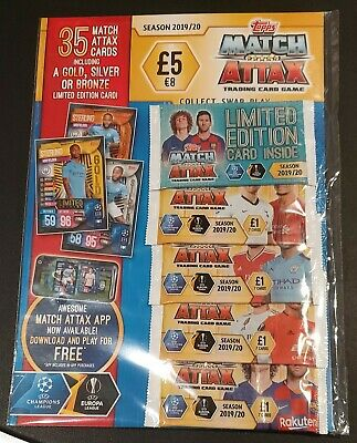 Match Attax 2019/20 Multi Pack Multipack new