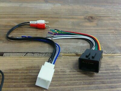 RADIO WIRE HARNESS w MACH 460 Amp Premium Stereo 98-03 ... on