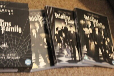 The Addams Family : The Complete Collection (9 Disc DVD Set) Series 1 2 3
