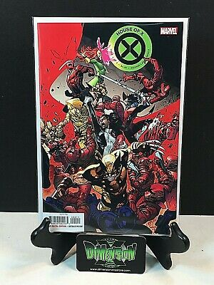 HOUSE OF X  #4 OF 6 COVER A MARVEL COMIC BOOK  2019 1st Print NM