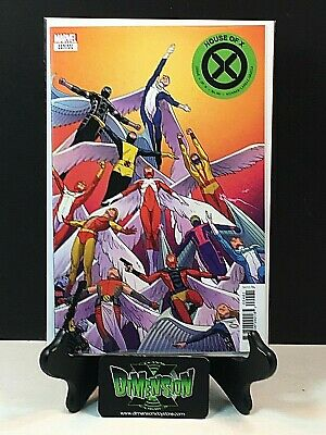 HOUSE OF X  #4 CHARACTER DECADES VARIANT COVER MARVEL COMIC 2019 1st Print NM