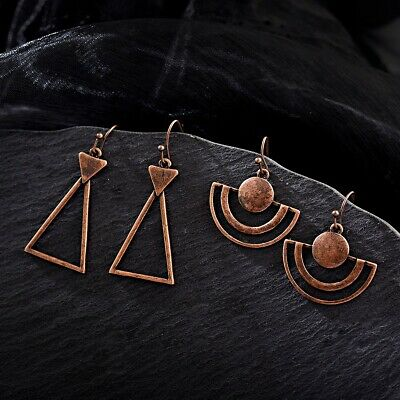 Women's Charm Metal Bohemia Folk-custom Dangle Hook Indian Fashion Boho Earrings