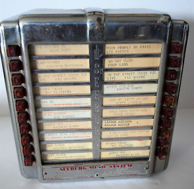 Jukebox Seeburg Remote Wall Box - #4