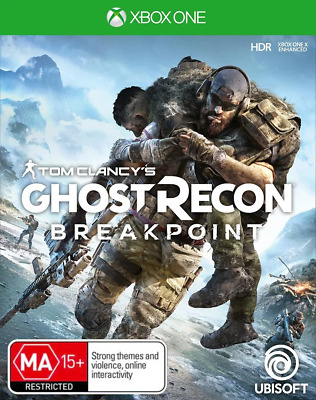 Tom Clancys Ghost Recon Breakpoint Xbox One Game NEW