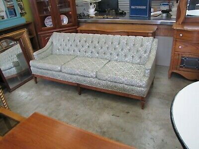 vintage hand tailored couch