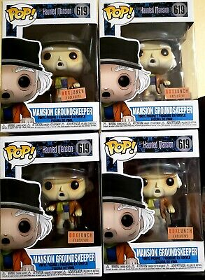 Funko Disney's Haunted Mansion Groundskeeper BoxLunch Comes W/ Protective Box