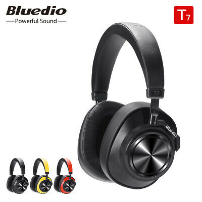Bluetooth Headphones Bluedio T7 ANC Wireless Headset music with face recognition