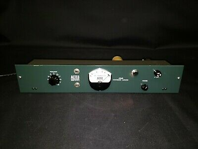 Altec 436B Tube Compressor Amplifier Compression Preamp - MINT TESTED