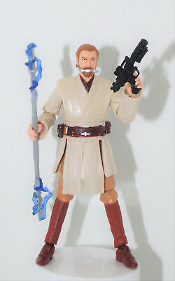 "OBI-WAN KENOBI Jedi Master Utupau 3.75"" Action Figure STAR WARS 30TH Anniversary"