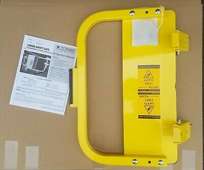 PS Doors LSG-15-PCY - Safety Gate - Yellow - New - FREE SHIPPING.