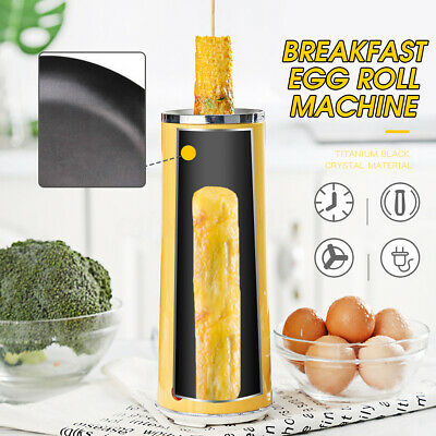 Electric Eggroll Machine Cooker Egg Roll Maker Sausage Frying Cooking Cup Tool