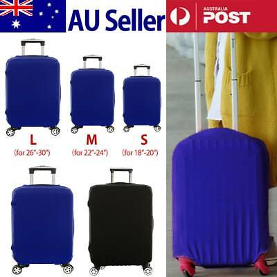 "Elastic Travel Luggage Suitcase Bag Cover 18""-30"" Dustproof Protector Protective"
