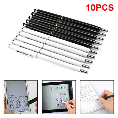 10× Touch Screen Stylus With Ball Point Pen Tip For Iphone Ipad,Tablet