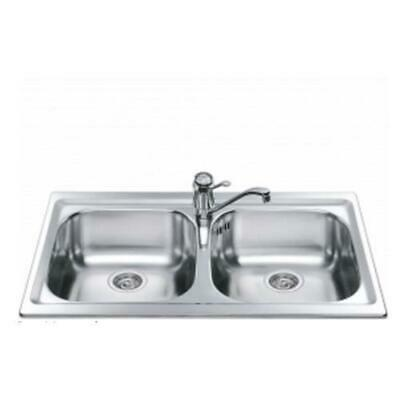 Smeg LXP862 Sink Sink Recessed Stainless AISI304 Prelucido 86 CM