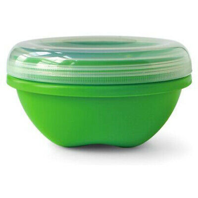 Preserve BPA-free Food Storage Container Green Apple Round Small - 19 Ounce