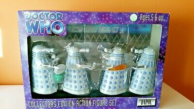 DOCTOR WHO Collectors Edition Action Figure Set 1980's