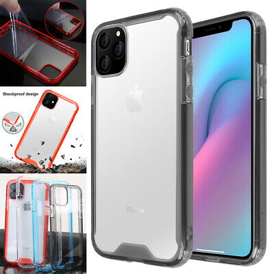 Heavy Duty Transparent Clear Case Shockproof Bumper Cover for iPhone 11 Pro Max