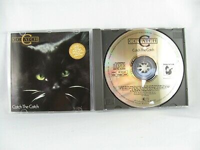 C.C.Catch Catch the Catch 1st W.Germany pressing cd  Hansa A matrix