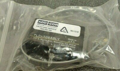 ADD-COM / DYNAMETRIC TLP-106ASLY Telephone Logger Patch with ON/OFF Switch - NEW