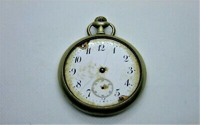 Antique Moeris Pocket Watch  for parts or repair