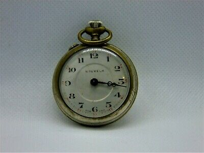 Antique Nouvela pocket watch for parts or repair
