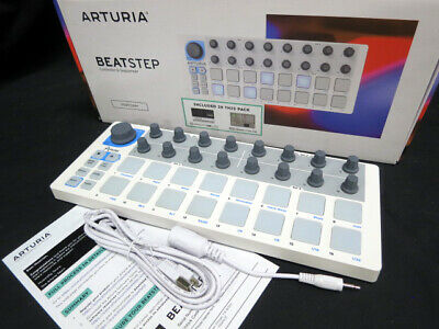 Arturia Beatstep MIDI Controller, mint boxed ex-display, accessories warranty