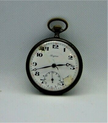 Antique Sergines  pocket watch  for parts or repair