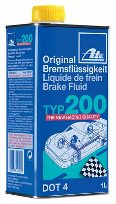 ATE Typ 200 Amber Racing Brake Fluid Type 200 Dot 4 - 1 Litre SAME DAY DISPATCH