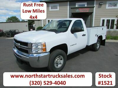 2009 Chevrolet 3500HD 4x4 Service Utility Truck, Summit White with 79187 Miles a