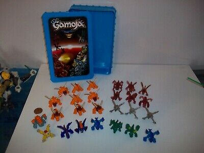 Gamoja Box Of 26 Minifigures Game, Blue, Moose Ent., See Others & Combine Post