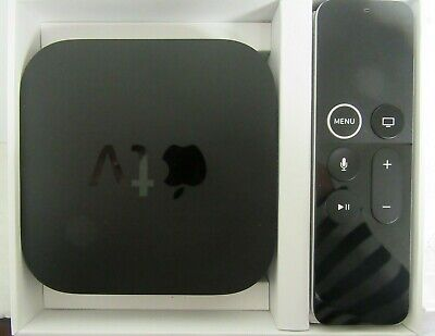 Apple TV 4K HD 64GB Media Streamer - Black (MP7P2LL/A) A1842 #101