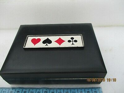 BOX WITH 2 PACKS OF PLAYING CARDS (one is sealed}