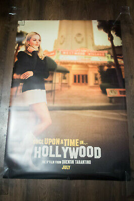 """ONCE UPON TIME IN HOLLYWOOD A 27"""" x 40"""" Rolled Movie Poster Original 2019"""