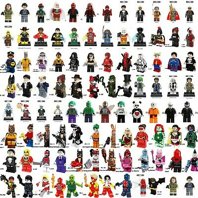 Marvel Comics Avengers Superhero Deadpool Lego Minifigures Building Block Toys