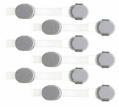 Safety 1st Custom Fit All Purpose Strap, 6 Count - 72326