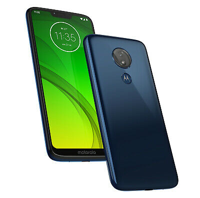 "Motorola Moto G7 Power - Unlocked - 6.2"" - 32GB - 3GB - Blue - Read Descriptions"