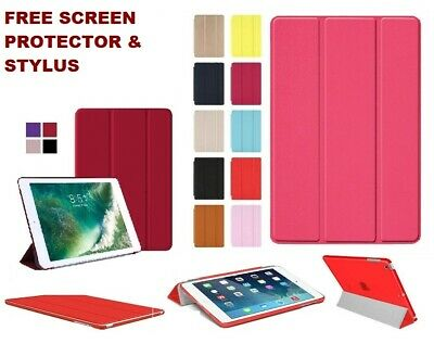 New Smart Stand Leather Magnetic Case Cover For Apple iPad 4 3 2 Air/Air 2 9.7''