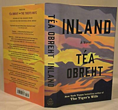 INLAND, Tea Obreht, SIGNED (title page), 1st/1st, New