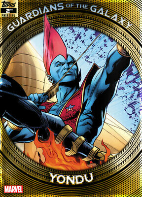 Topps Marvel Collect Yondu GUARDIANS GALAXY GOLD 2nd Printing [DIGITAL] 750cc