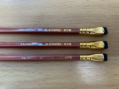 3 Blackwing Volume 10001 pencils: Box Not Included