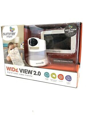 Summer Infant Wide View 2.0 Baby Monitor