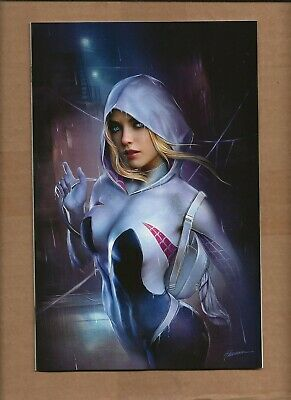 Ghost Spider #1 Shannon Maer Exclusive  Virgin Variant Cover Gwen Marvel