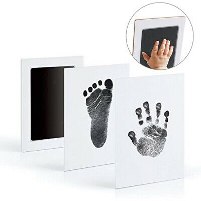 Baby Safe Print Ink Pad Inkless Footprint Handprint Kit Keepsake Maker Memories