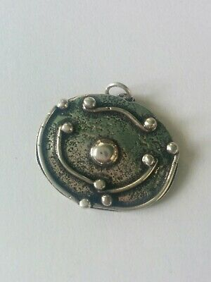 Beautiful Arts & Crafts Style Sterling 925 Silver Pendant.
